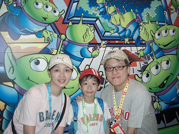 <東京陸上迪士尼樂園2007/8/12>