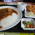 <nani日式輕食餐廳-咖哩雞排定食>