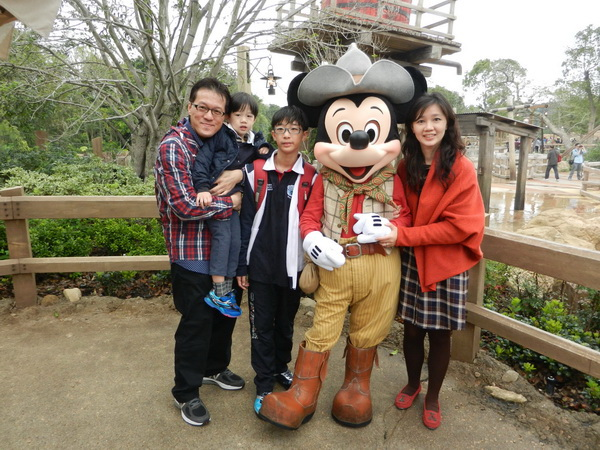 <香港迪士尼樂園2013/2/28>