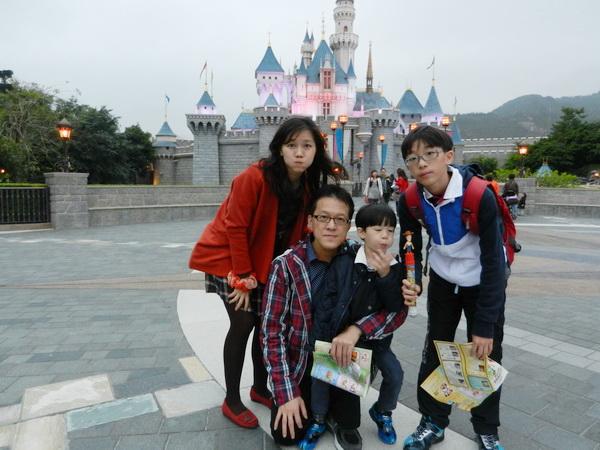 <香港迪士尼樂園-美國小鎮大街 2013/2/28>