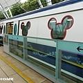<香港迪士尼樂園捷運2013/2/28>