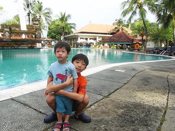 <峇里島庫塔區Ramada Bintang Bali飯店2011/2/12>