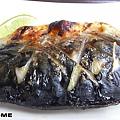 <nani日式輕食餐廳-鹽烤鯖花魚定食>