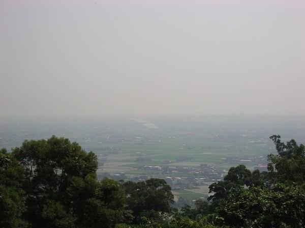 仁山觀景台眺望家園