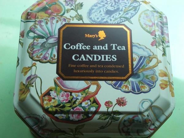 Mary's 咖啡茶糖果盒