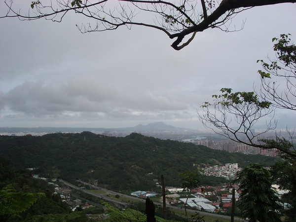 遠眺觀音山