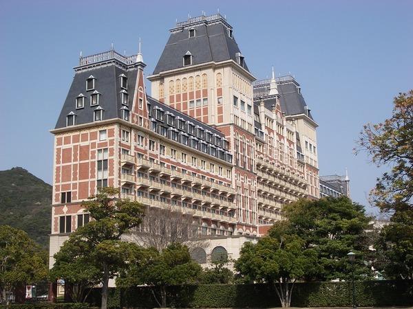 豪斯登堡園外的大飯店