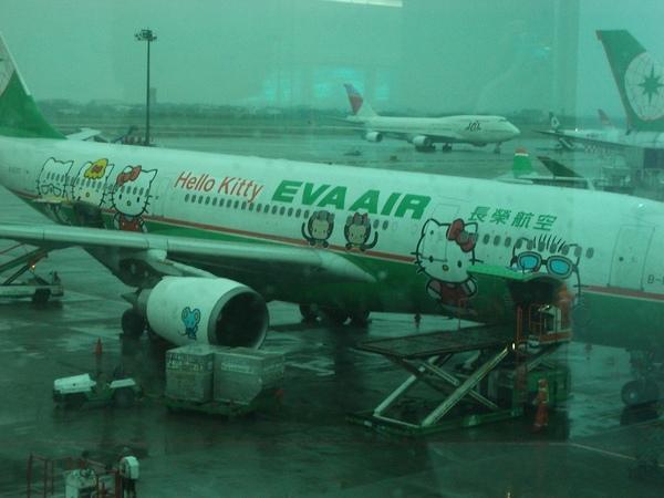 BR2106 Kitty 彩繪班機