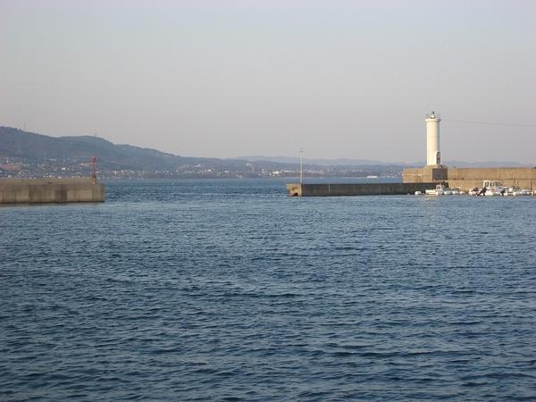 龜川港出海口