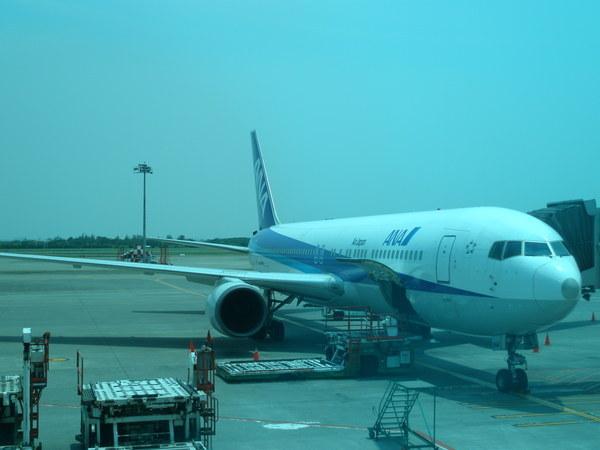 我搭的班機