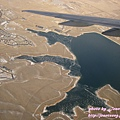 Denver 機場附近快結冰的湖泊