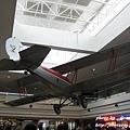 Denver 航站裡的飛機模型
