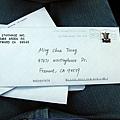 奇怪的一封信~ 手寫??!! = =a