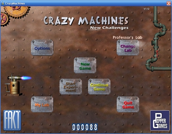 Crazy Machines -- New Challanges