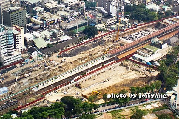 台中火車站高架