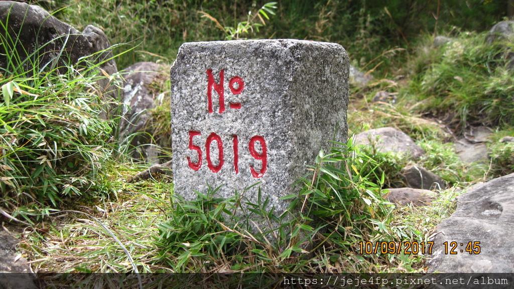 20171009 (132) 東埔山步道 [0.8km處(東埔山編號5019號的三等三角點)].JPG