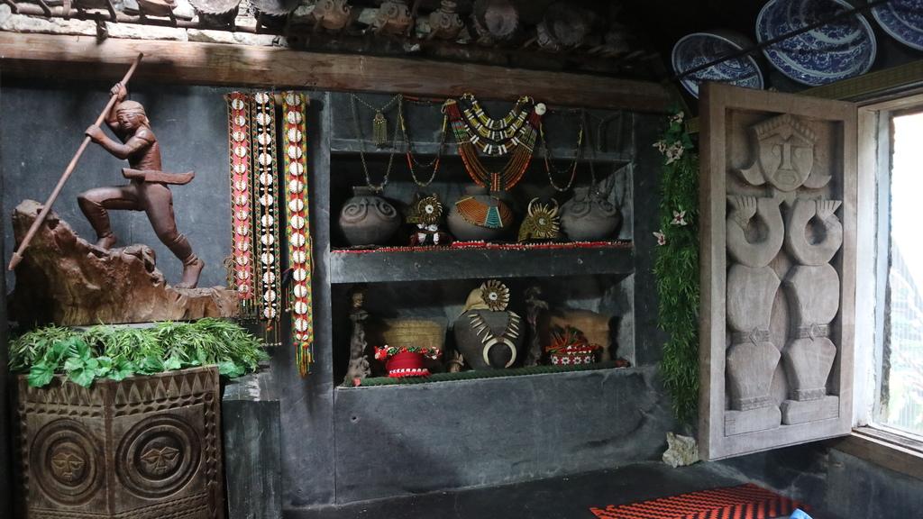 20180216 (236) 卡拉瓦石屋民宿的內部擺設.JPG