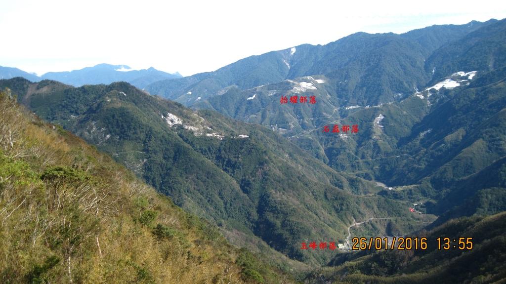 20160126 (8A) 由竹60道路21.2km處[宇老]眺望玉峰村的部落.JPG