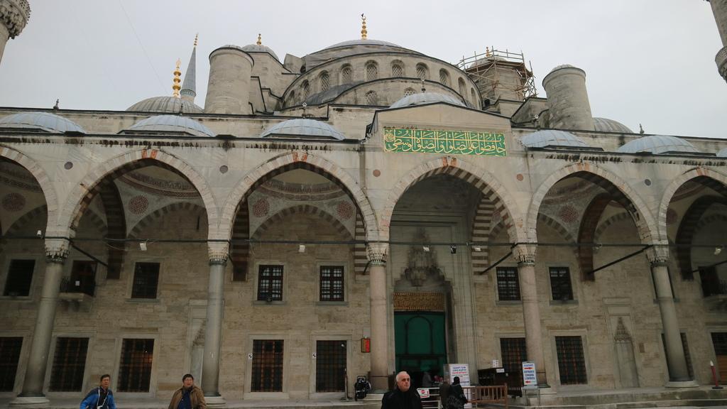 20190114 (125) 藍色清真寺(Sultan Ahment Camii Mosque)[伊斯坦堡].JPG