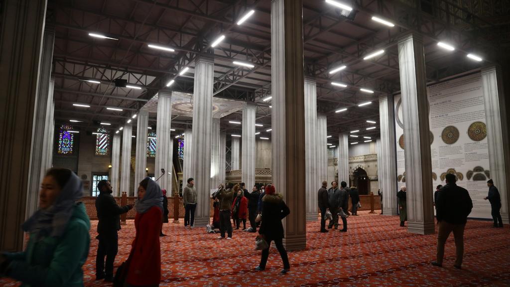 20190114 (220) 藍色清真寺(Sultan Ahment Camii Mosque)[伊斯坦堡].JPG