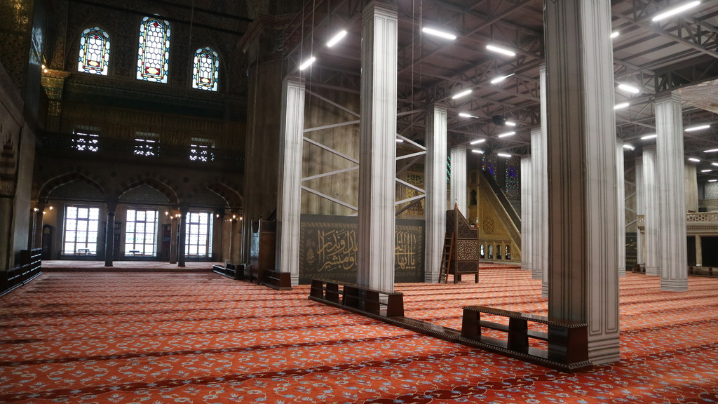 20190114 (225) 藍色清真寺(Sultan Ahment Camii Mosque)[伊斯坦堡].JPG