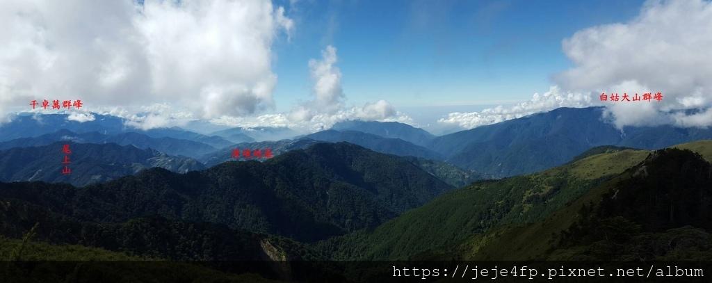 20161030 (102A) 由合歡山主峰頂眺望.jpg
