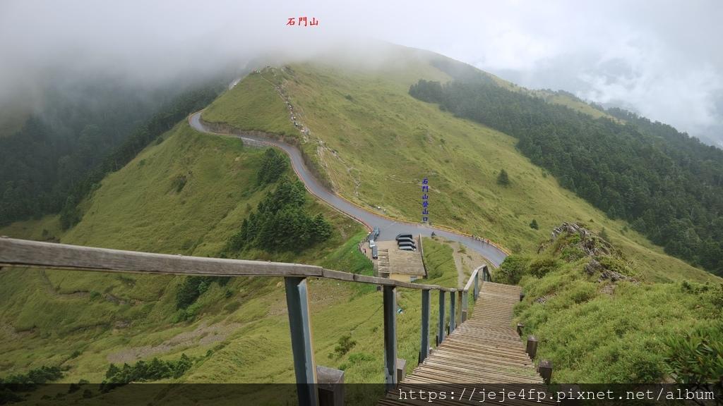 20180617 (18A) 由合歡尖山登山步道眺望石門山.JPG