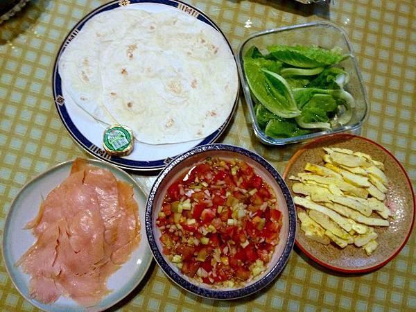 墨西哥煙燻鮭魚備料