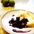 藍莓可麗餅