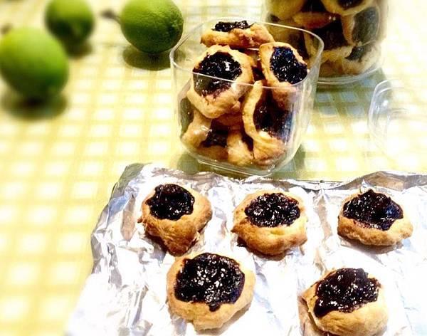 藍莓果醬餅乾