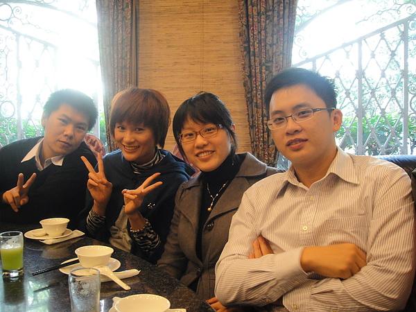 由左而右:後安 小訪 子倫 杰賢