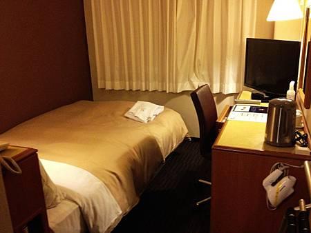 這次依究選擇商務飯店ヴィアイン麻雀雖小,五臟俱全