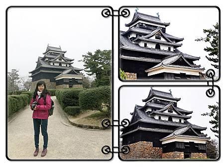 松江城是日本島根縣松江市殿町的古城。因其檐角飛揚,所以別名為千鳥城,是少數存留下來的日本古城堡之一,更是少數的木製而非水泥結構的城堡之一。