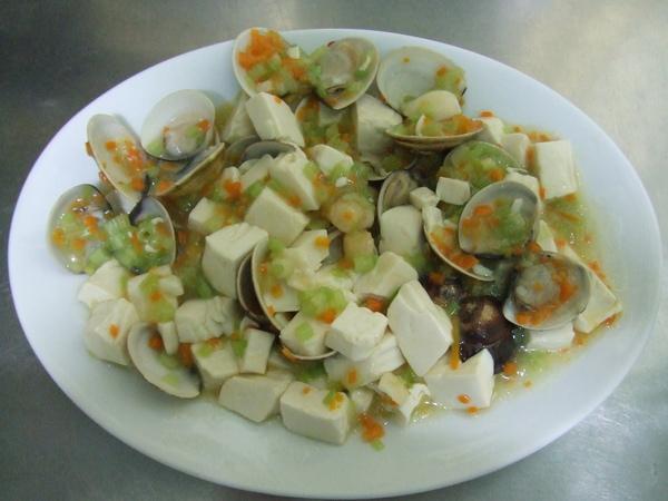 干貝蛤蠣豆腐煲_成品