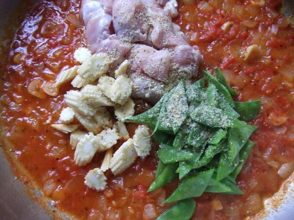 義式茄汁雞肉泡飯_做法7