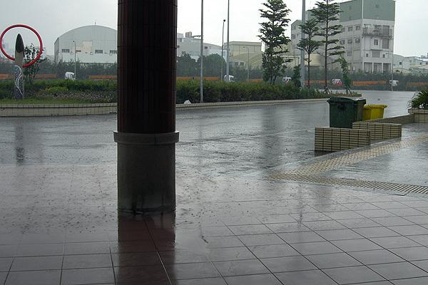 下雨囉...