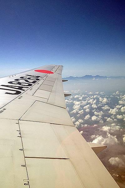 飛~ 還看的到山