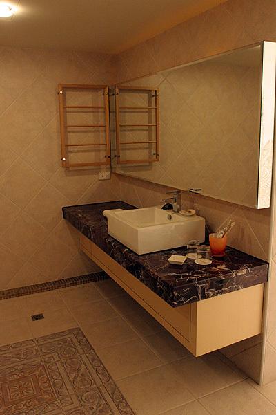 莎翁客房-浴室一景