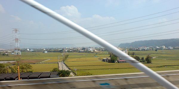 高鐵體驗-沿途風景1