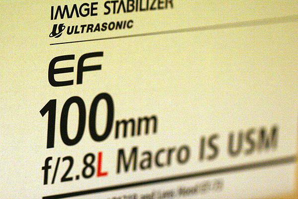 100mm Macro F/2.8L