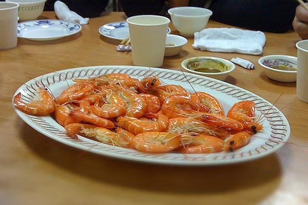 蔡包李小吃部-清燙蝦