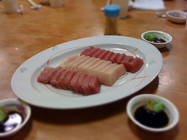 蔡包李小吃部-生魚片