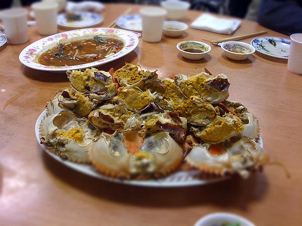 蔡包李小吃部-處女蟳