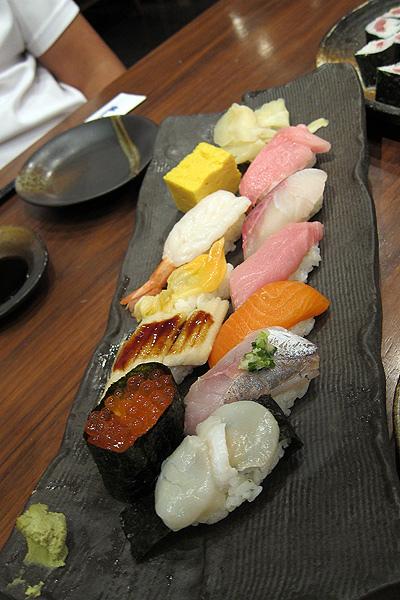 豐富的握壽司