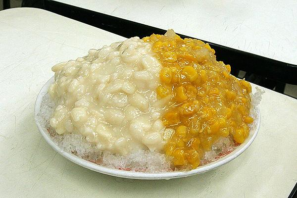 玉米花生冰