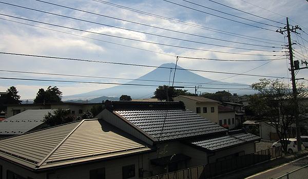 看到富士山囉~