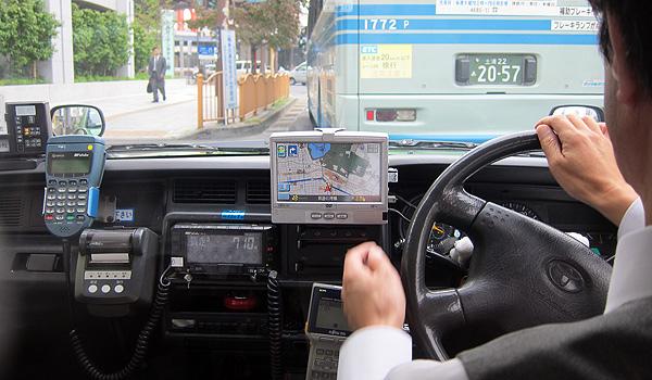 計程車也用導航!