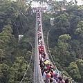 人滿為患的天空之橋,看的我心經膽顫!