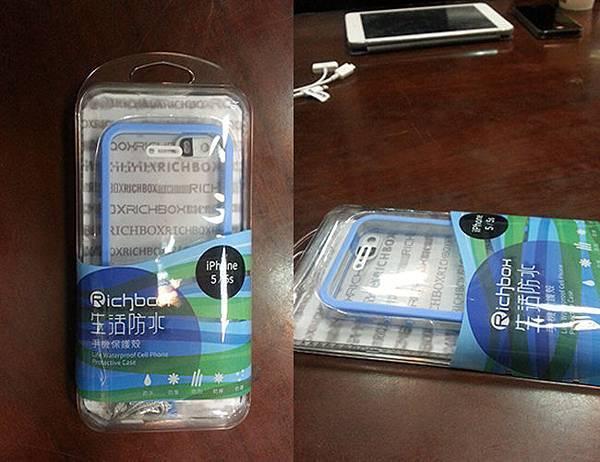 iPhone5、iPhone6防水手機殼未拆封篇與穿戴篇