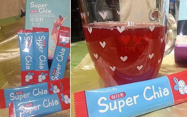 每日美Super Chia噹噹水內容物